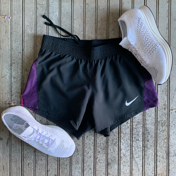 Women's Nike Dri-fit Running Athletic Lined Running Shorts Size Medium Superior Performance Clothing, Shoes & Accessories Activewear